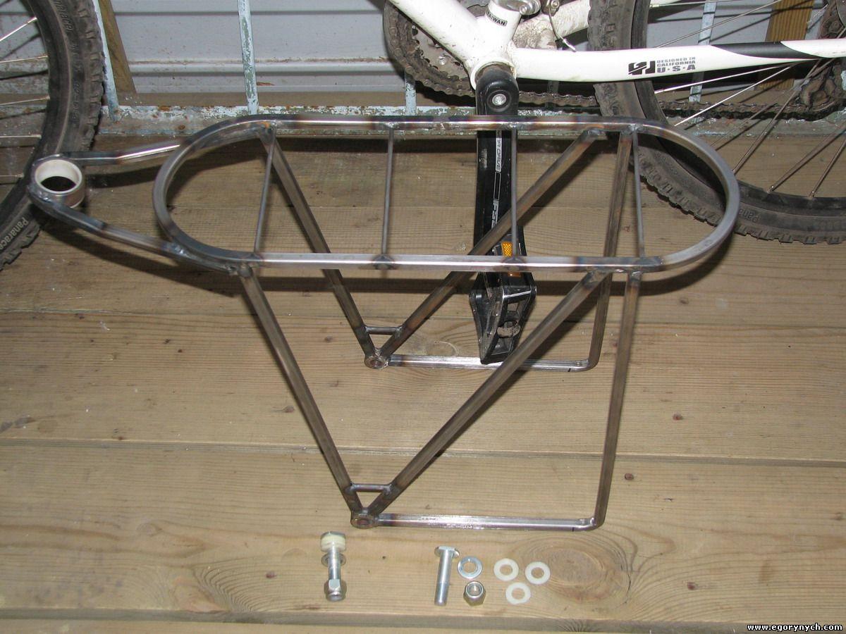 Багажник на двухподвесный велосипед своими руками 32