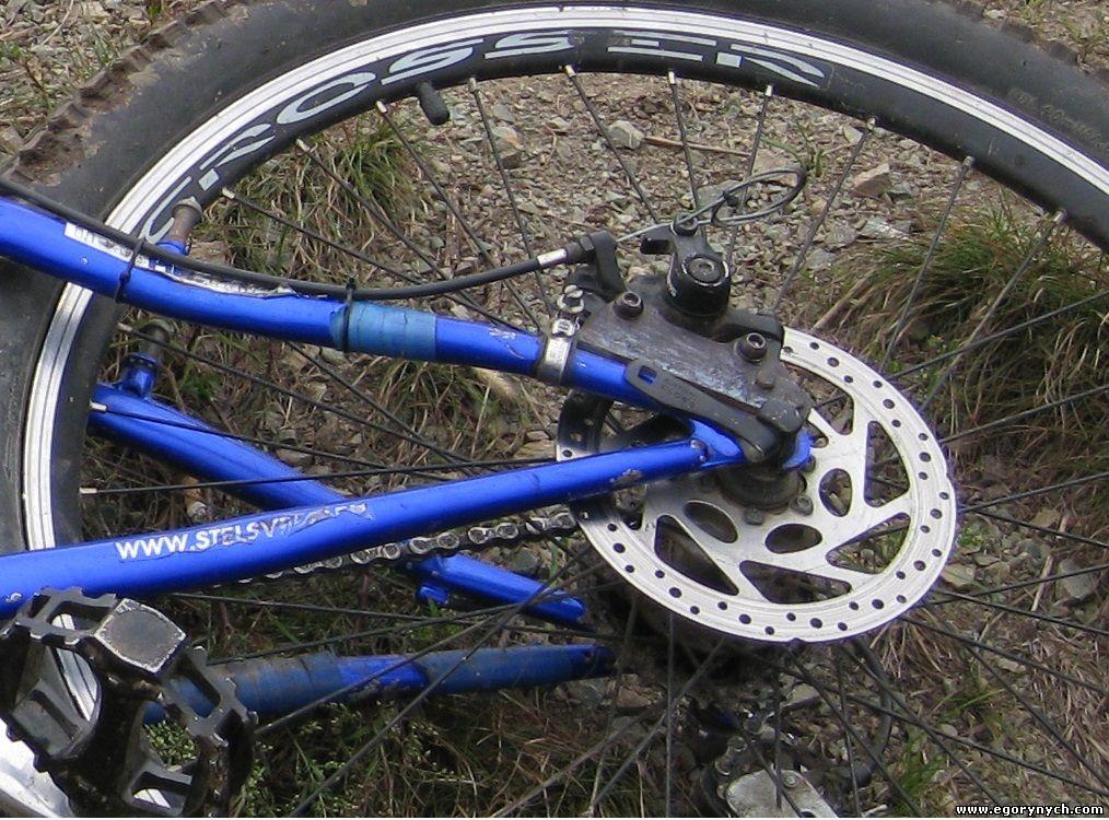 Как сделать передний тормоз на велосипеде 562