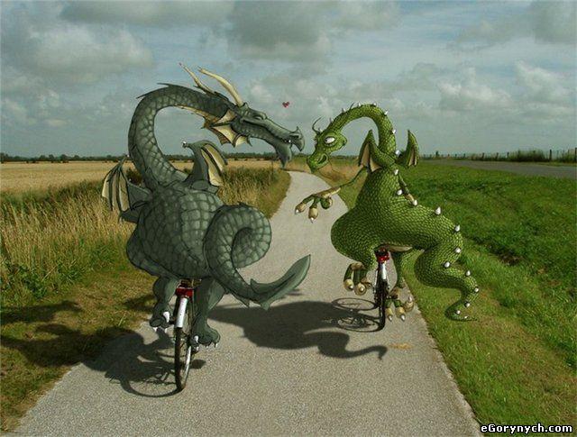 eGorynych - дракончики на велосипедах
